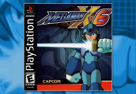 PSX PlayStation Mega Man X6