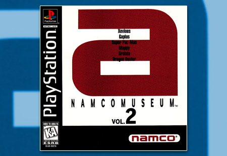 PSX PlaySTation Namco Museum Volume 2 - A