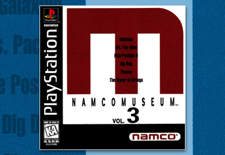PSX PlayStation Namco Museum Volume 3 - M