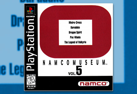PSX PlayStation Namco Museum Volume 5 - O