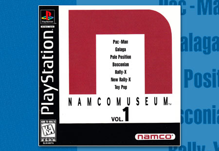 PSX PlayStation Nacmo Museum Volume 1 - N
