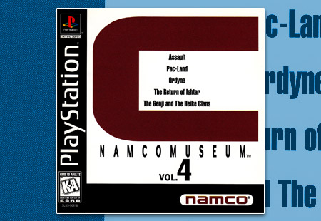 PSX PlayStation Namco Museum Volume 4 - C