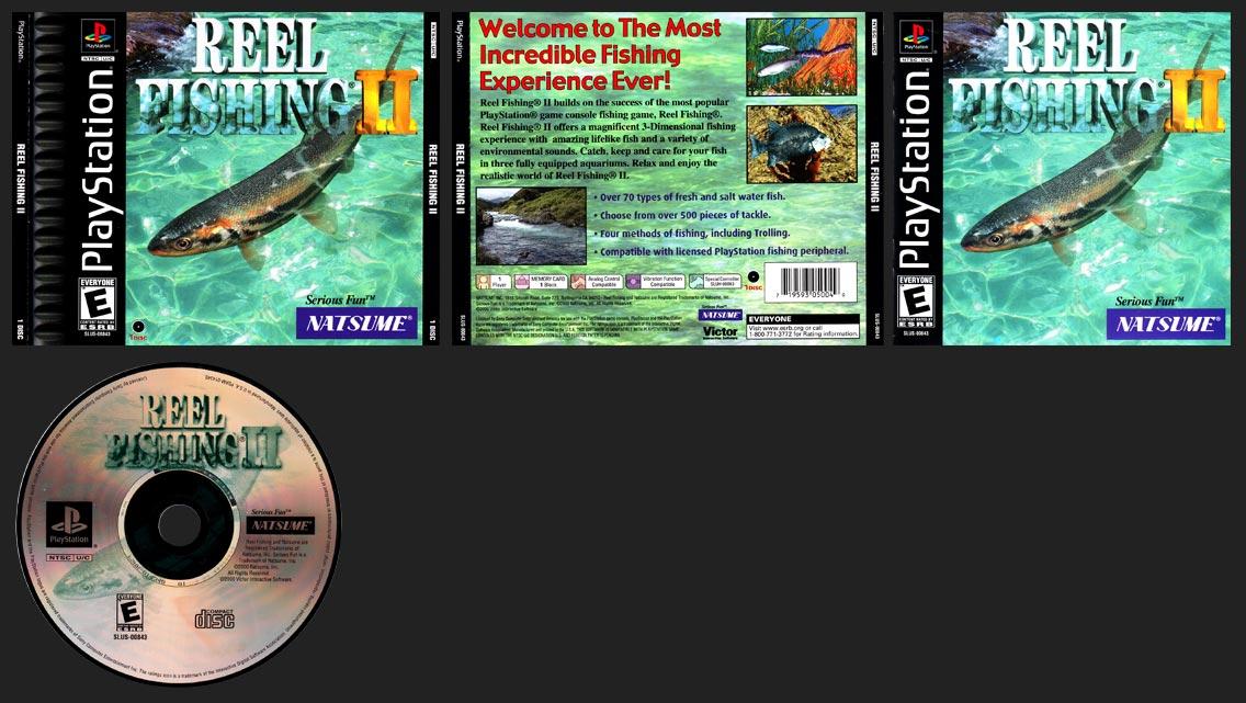 PSX PlayStation Reel Fishing II