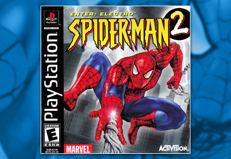 PSX PlayStation Spider-Man 2 Enter Electro 9/11 version