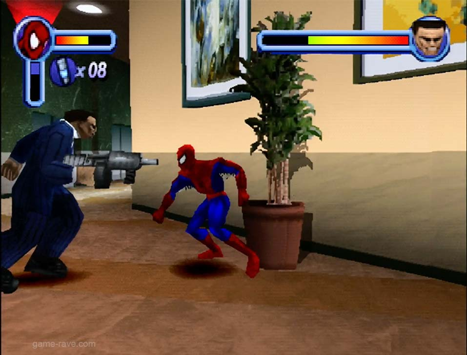 PSX PlayStation Spider-Man Enter Electro Screenshot