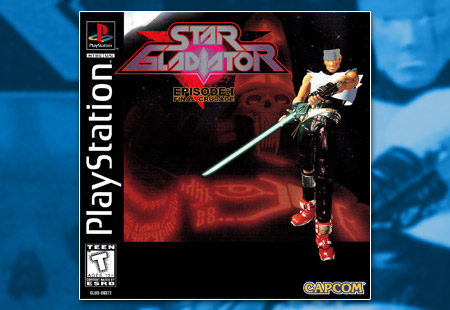 PSX PlayStation Star Gladiator