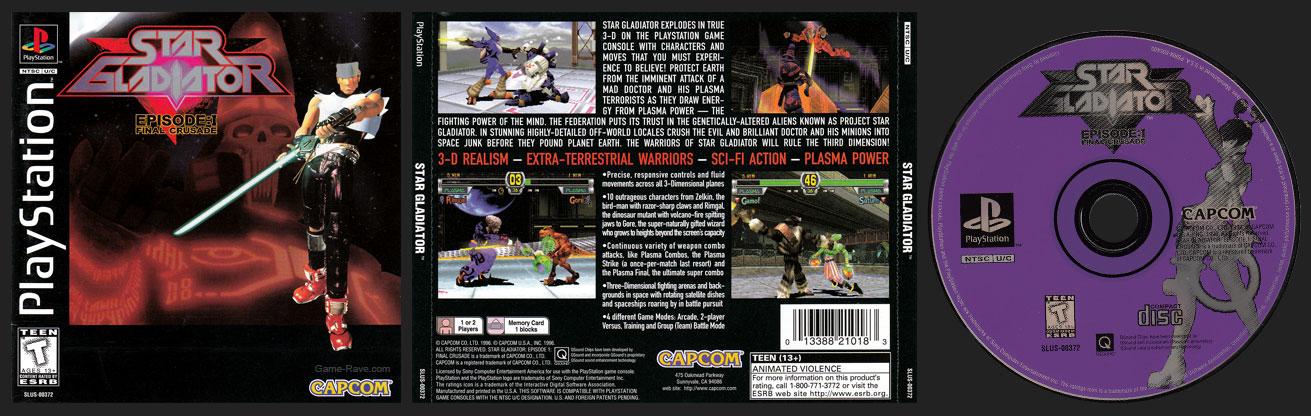 PSX PlayStation Star Gladiator