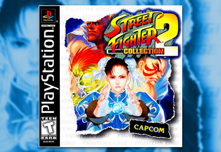 PSX PlayStation Street Fighter Collection 2