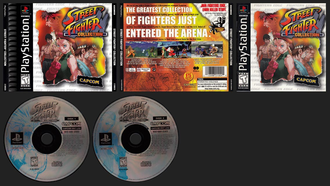 PSX PlaySTation Street Fighter Collection