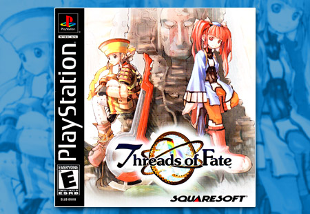 PSX PlayStation Threads of Fate
