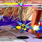 PSX PlayStation Marvel Super Heroes Screenshot