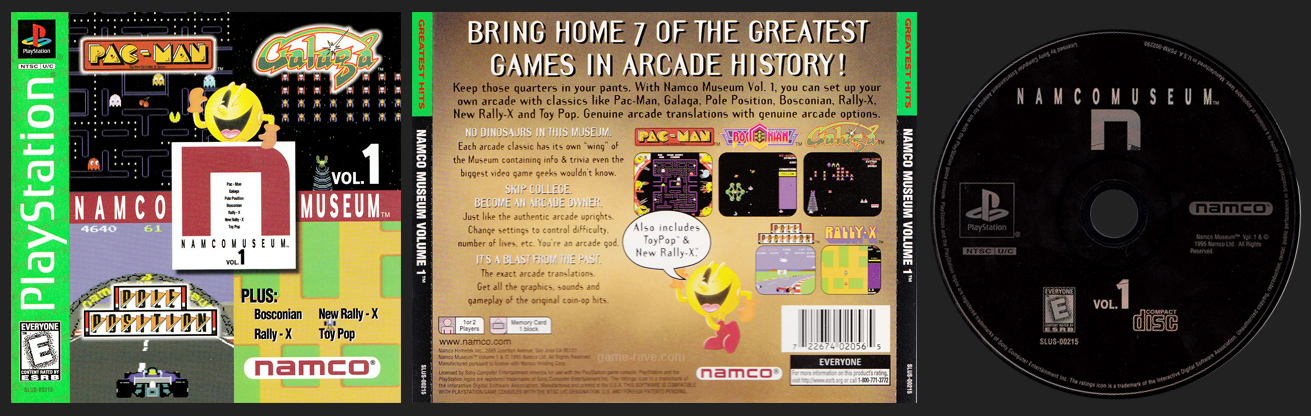 PSX PlayStation Nacmo Museum Volume 1 - N Greatest Hits