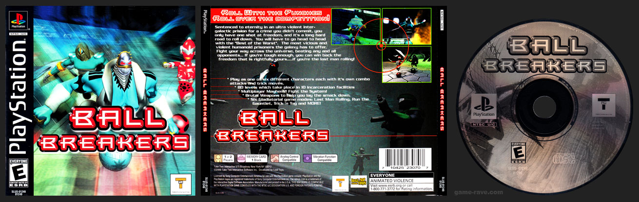 PSX PlayStation Ball Breakers
