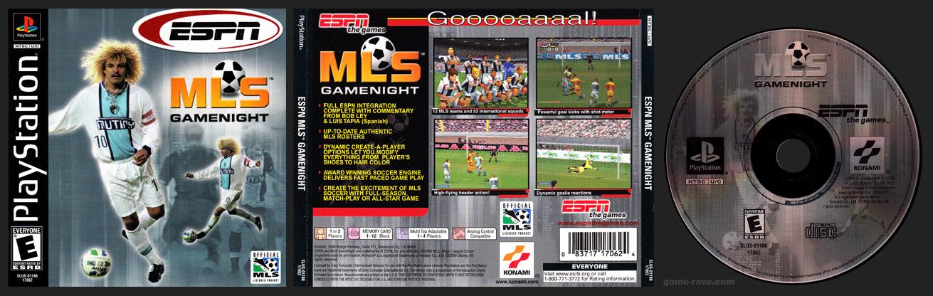 PSX PlayStation ESPN MLS Gamenight