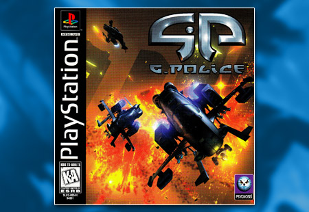 PSX PlayStation G-Police
