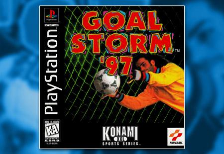 PSX PlayStation Goal Storm '97