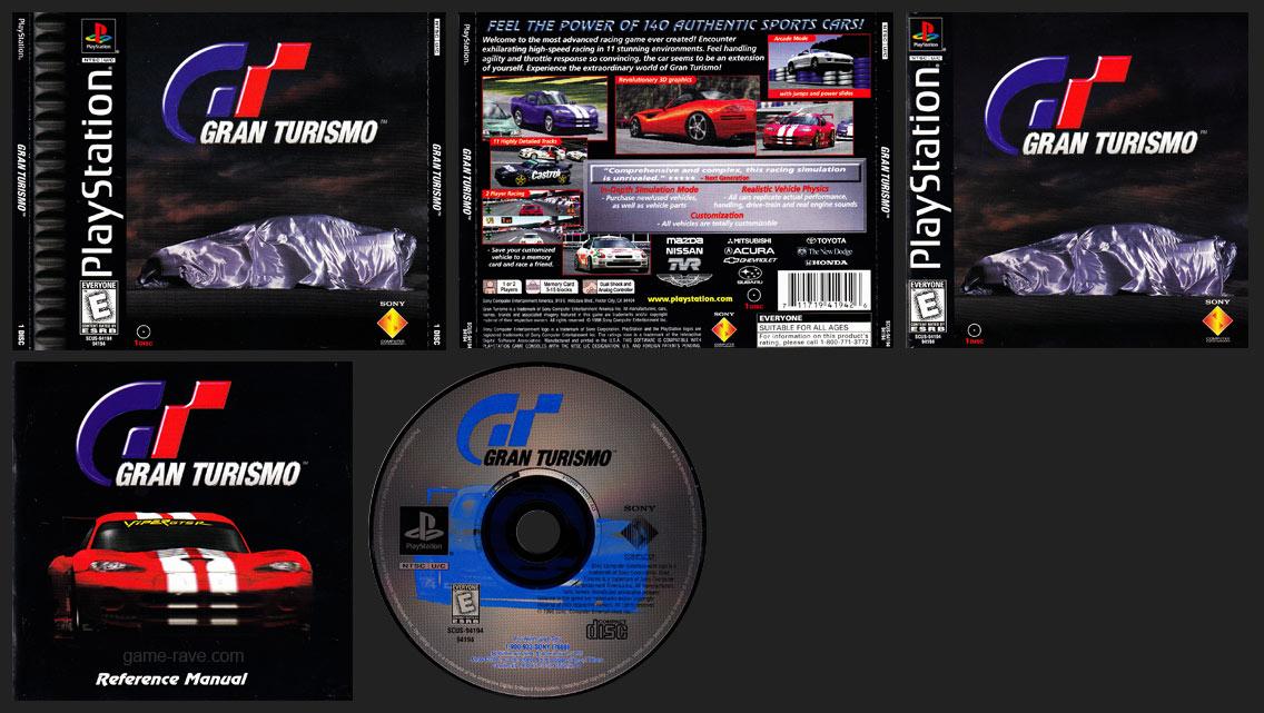 PSX PlayStation Gran Turismo