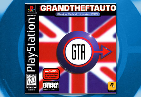 PSX PlayStation Grand Theft Auto Mission Pack #1: London 1969