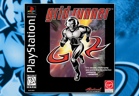 PSX PlayStation Grid Runner