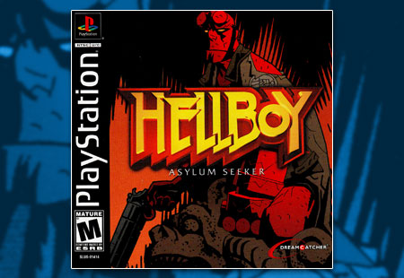 PSX PlayStation Hellboy: Asylum Seeker