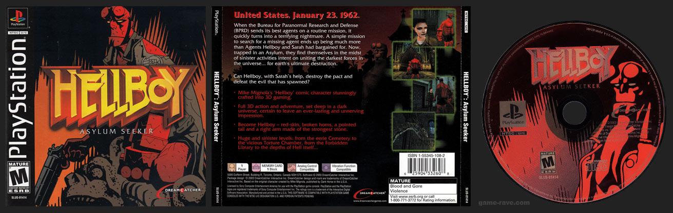 PSX PlayStation Hellboy: Asylum Seeker