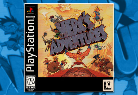 PSX PlayStation Herc's Adventures