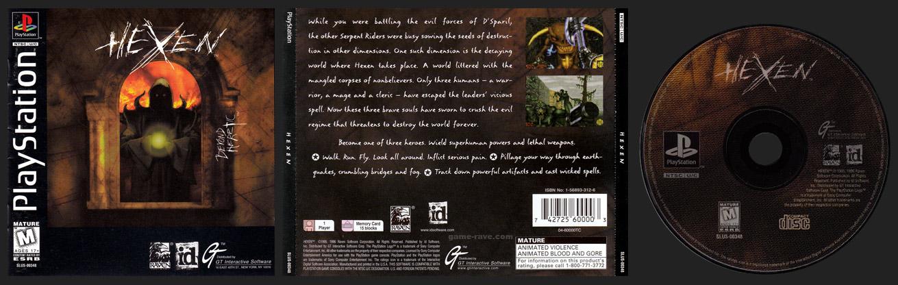 PSX PlayStation Hexen