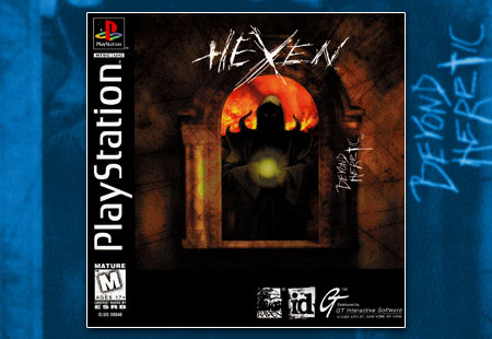 PSX PlayStation Hexen