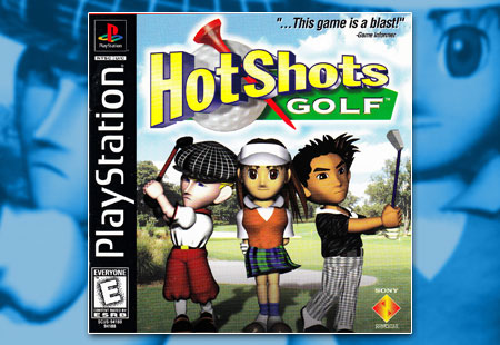 PSX PlayStation Hot Shots Golf