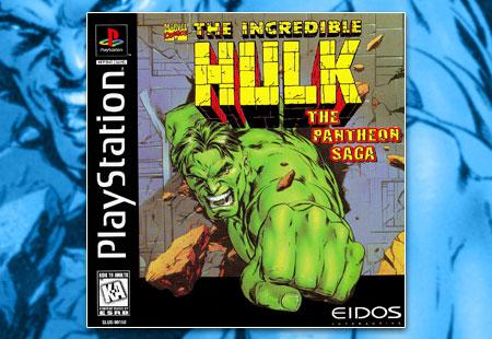 PSX PlayStation Incredible Hulk: The Pantheon Saga, The