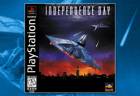 PSX PlayStation Independence Day