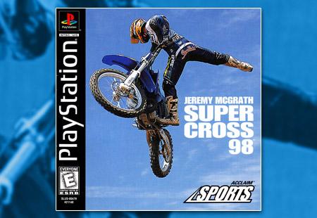 PSX PlayStation Jeremy McGrath Supercross 98