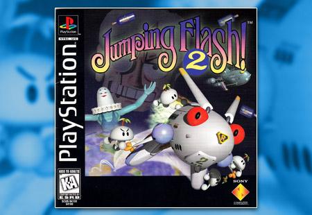 PSX PlayStation Jumping Flash 2