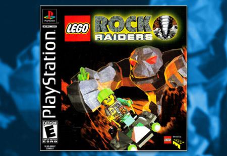 PSX PlayStation Lego Rock Raiders