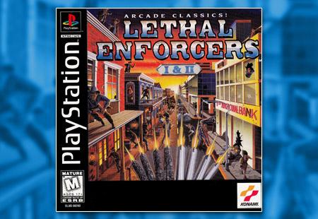 PSX PlayStation Lethal Enforcers I & II
