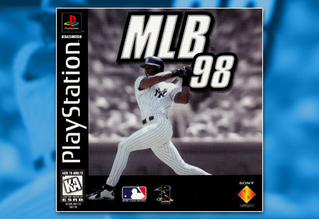 PSX PlayStation MLB 98