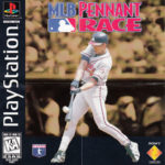 PSX PlayStation MLB Pennant Race POster