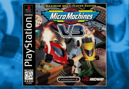PSX PlayStation Micro Machines V3