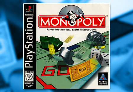 PSX PlayStation Monopoly