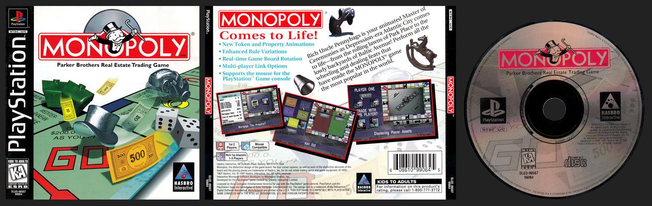 PSX PlayStation Monopoly Black Label Retail Release