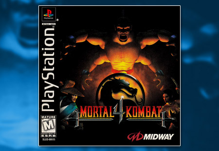 PSX PlayStation Mortal Kombat 4