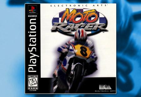 PSX PlayStation Moto Racer