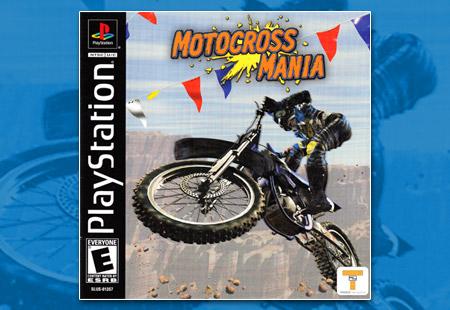 PSX PlayStation Motocross Mania