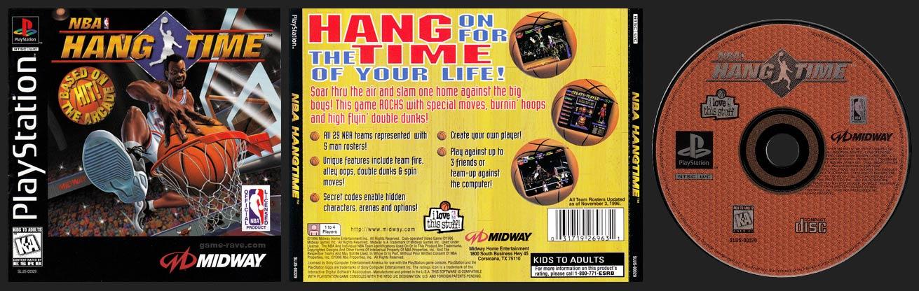 PSX PlayStation NBA Hangtime
