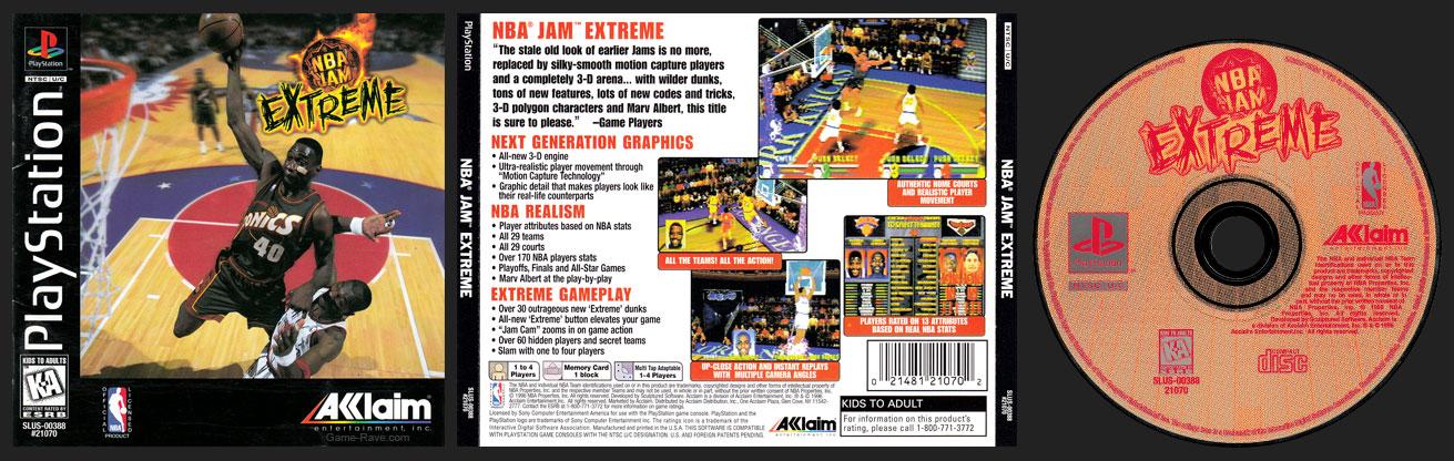 PSX PlayStation NBA Jam Extreme