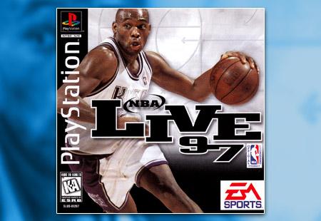 PSX PlayStation NBA Live 97