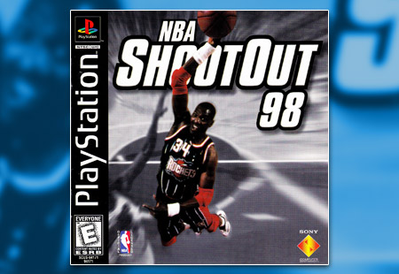 PSX PlayStation NBA Shoot Out 98