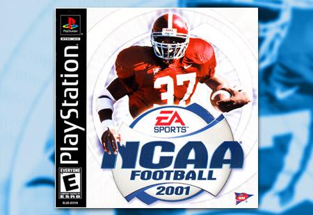 PSX PlayStation NCAA Football 2001