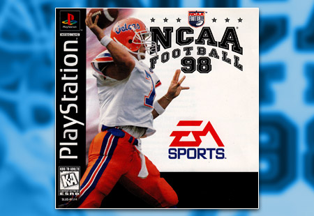 PSX PlayStation NCAA Football 98