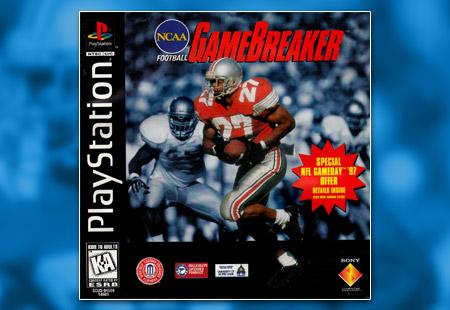PSX PlayStation NCAA Football Gamebreaker
